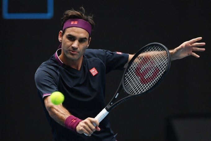 Federer Johnson Australian Open 2020