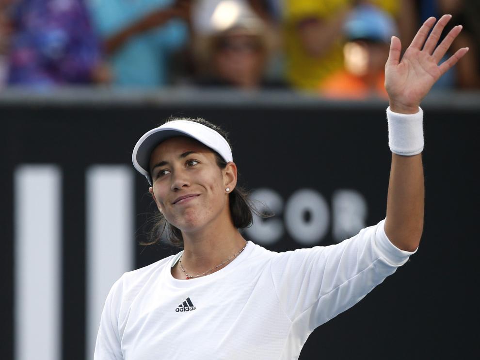 Muguruza Tomljanovic Australian Open 2020
