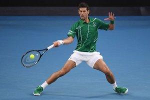 Djokovic Federer Australian Open 2020