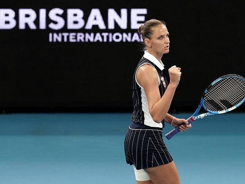 Pliskova Keys WTA Brisbane 2020