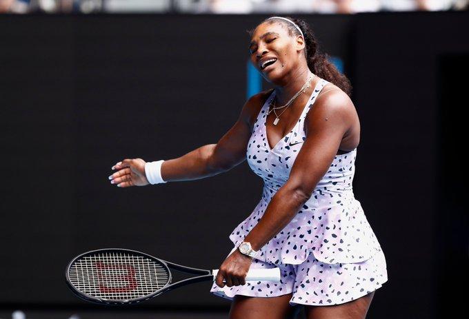 Serena Williams Wang Open Australia 2020