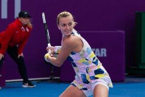Kvitova Ostapenko WTA Doha