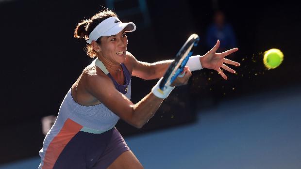 Muguruza Kudermetova WTA Dubai 2020