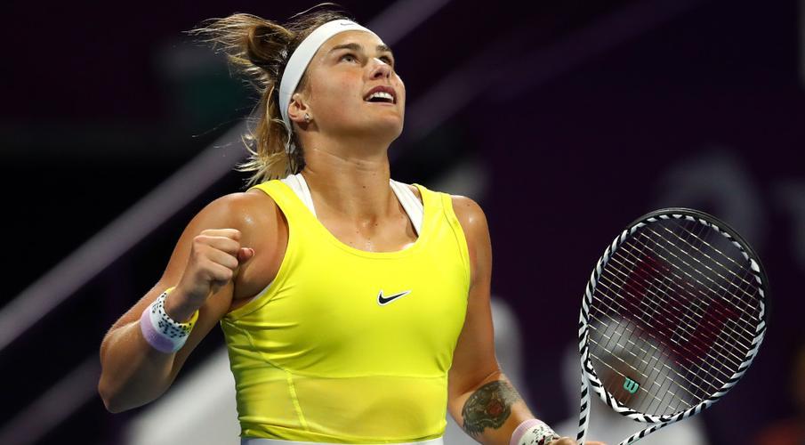 Sabalenka Kvitova WTA Doha 2020