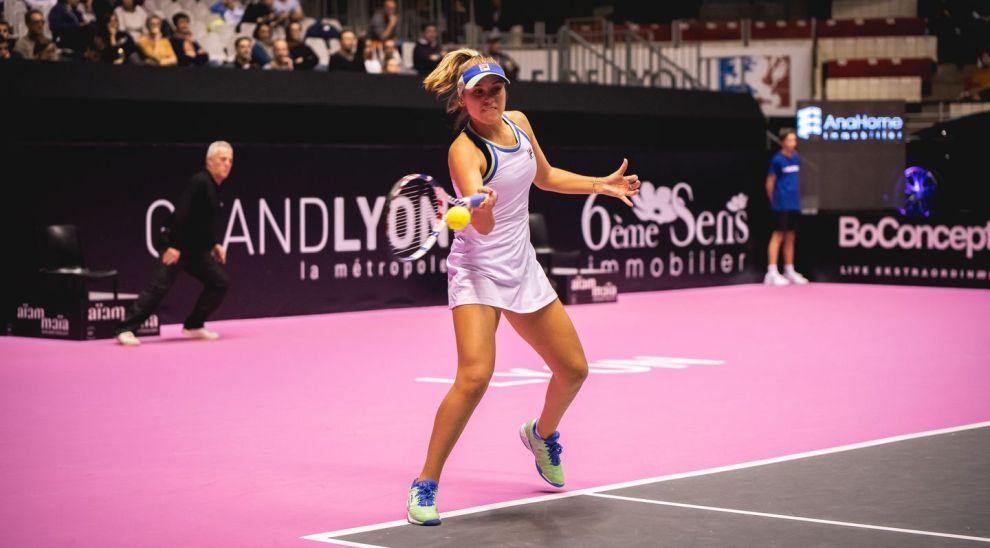 Kenin Cristian WTA Lyon 2020