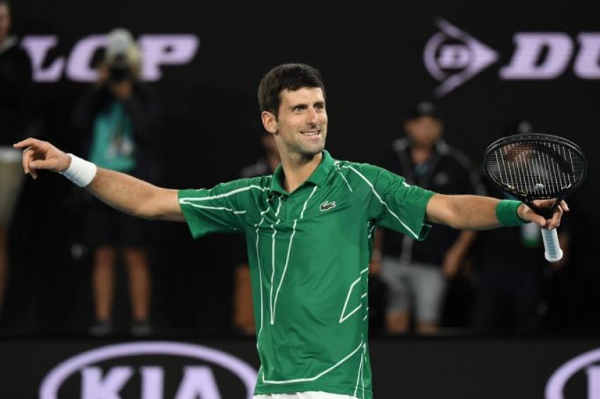 Novak Djokovic Invicto 2020