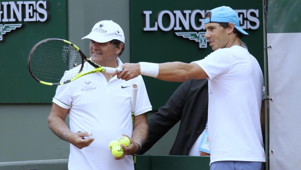 Toni Nadal declaraciones Federer Nadal