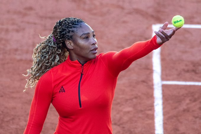 Williams Ahn Roland Garros