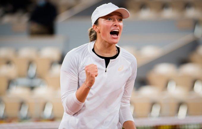 Swiatek Trevisan Roland Garros