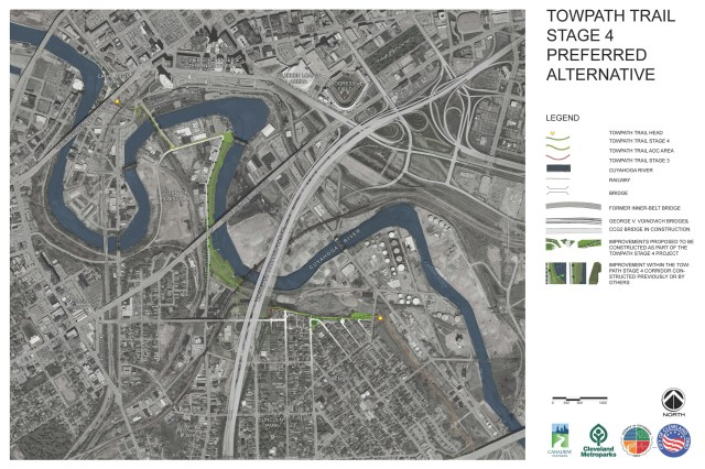 Towpath Trail Stage 4 Preferred Alternative Route