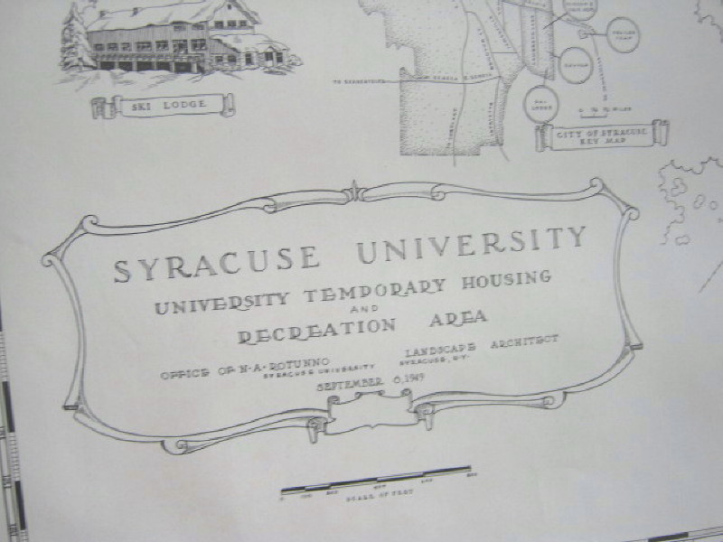 Syracuse University South Campus Map