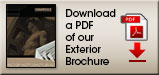 Download PDF of our Exterior Brochure