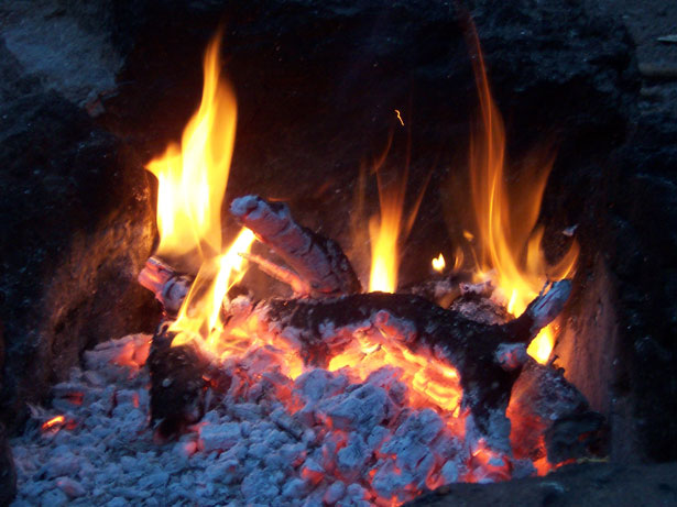 camp fire picture