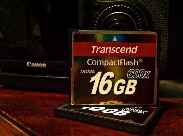 Transcend 600x CF