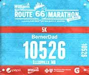 20141122-Route 66 5K Bib