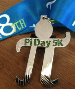 Pi Day 5K Medal