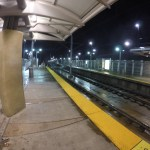 Lonely Train Platform
