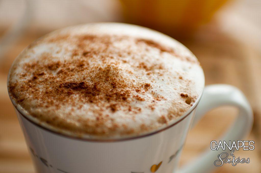 Foamy Pumpkin Spice Latte