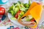 Cheddar Low Carb Folios Sandwich Wrap