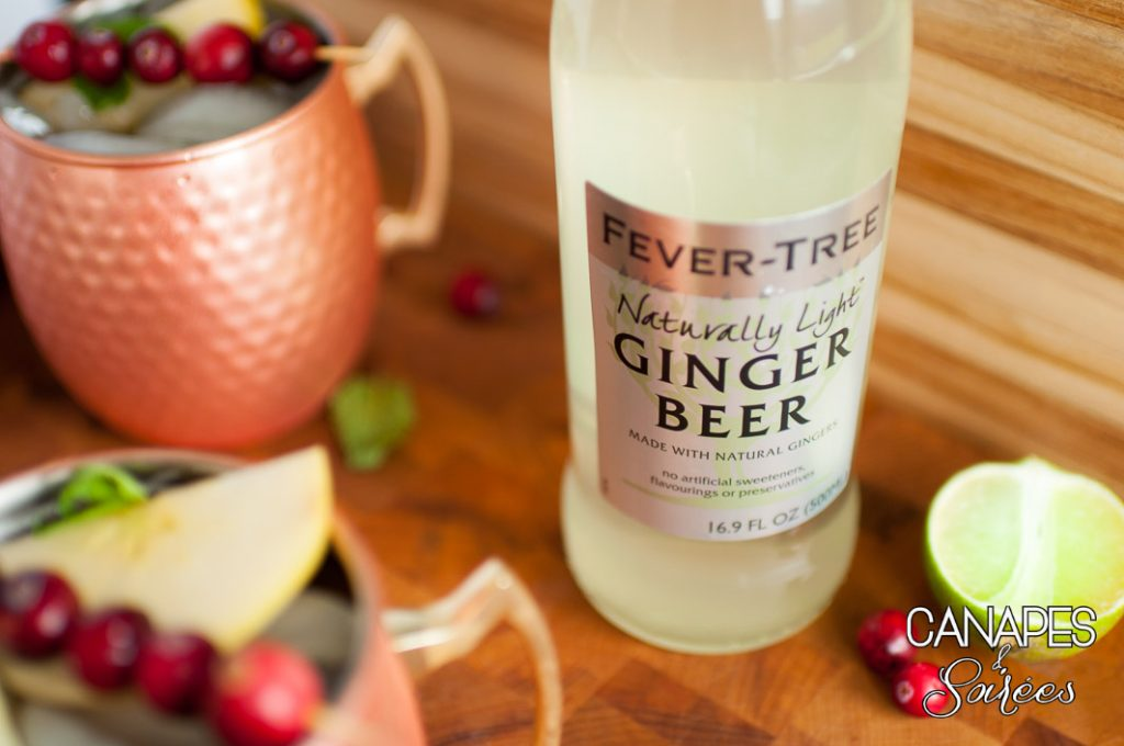 Cranberry Pomegranate Moscow Mule Ginger Beer