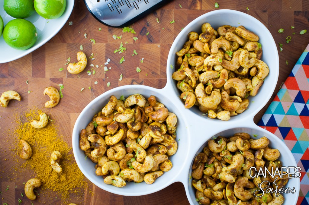 Curry Lime Cashews