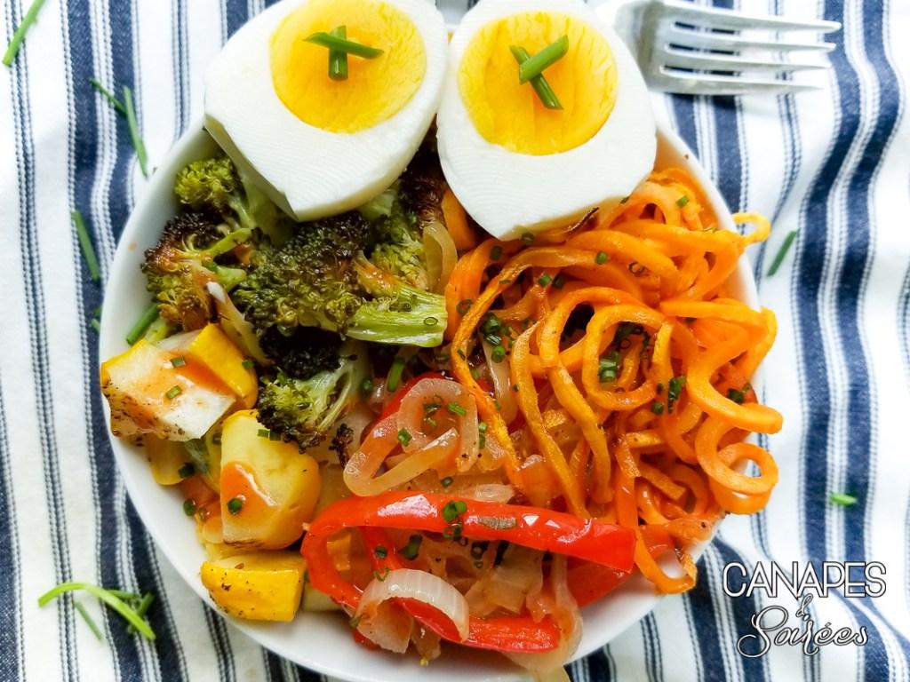 Vegetarian Power Breakfast Bowl
