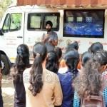 startup yatra ratha visited to VDRIT collage haliyal