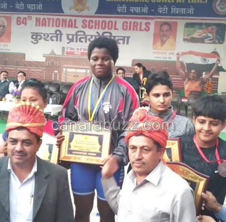 LEENA siddi kusti patu - national level wins and goes to International level