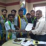 jay karnataka sangh submitted memorandum