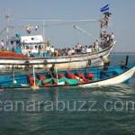 Boat sinking in Karwar in Kollam - more than ten deaths - several missing.