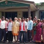 kempu sene submitted memorandum to DFO haliyal
