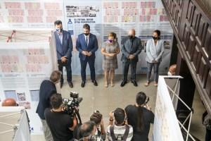 La ULL acoge la exposición 'DNI blanquiazul', un recorrido histórico por el CD Tenerife