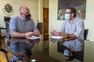 Informe favorable del Consejo Insular de Aguas al proyecto de mejora de la cancha municipal de Tesejerague