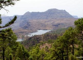 Las Niñas damn in Gran Canaria