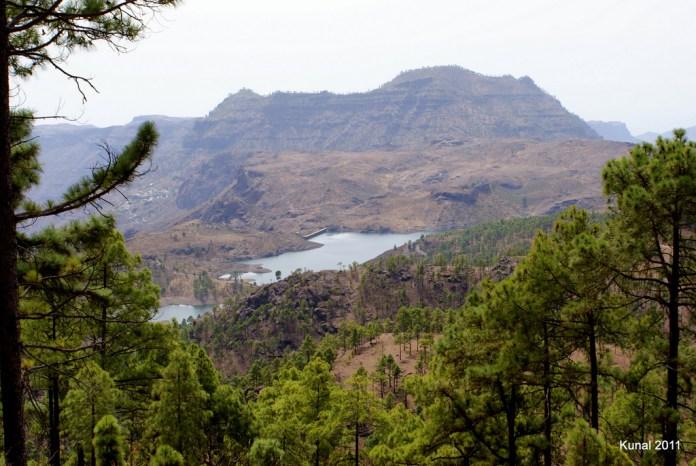 Presa de las Niñas en Gran Canaria