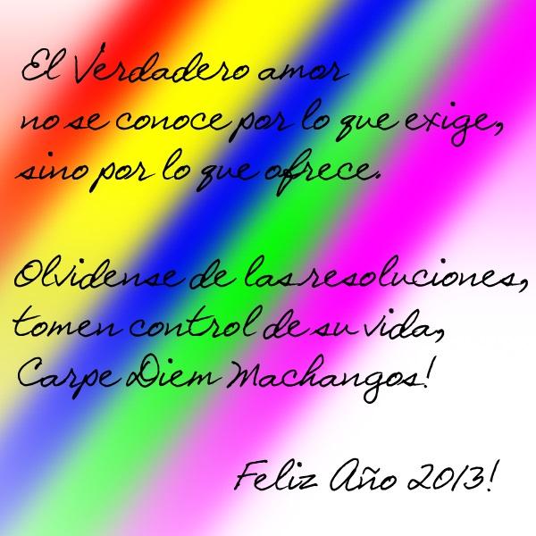 Feliz Ano Nuevo 2013