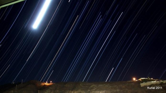 Star Trails - Gran Canaria - Puerto Rico
