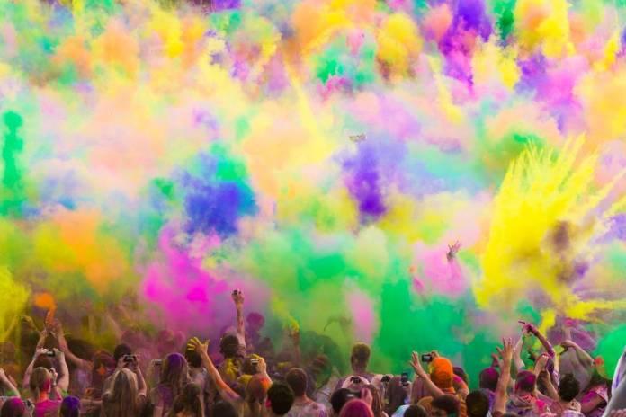 Colores de Holi