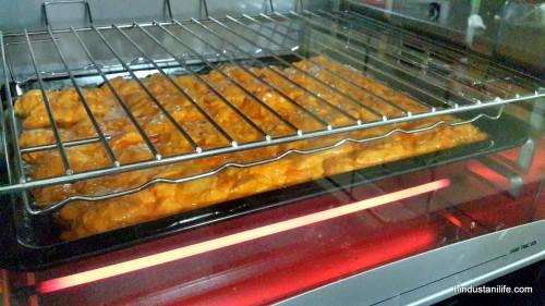 Pollo Marinado en el horno