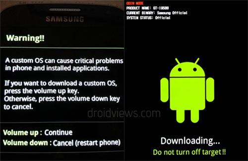Galaxy S4 Modo Descarga