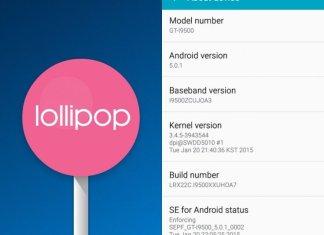 Menu Android Lollipop