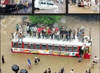 Lluvias Mumbai 2007
