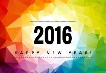 Feliz 2016 - Vector Colorido