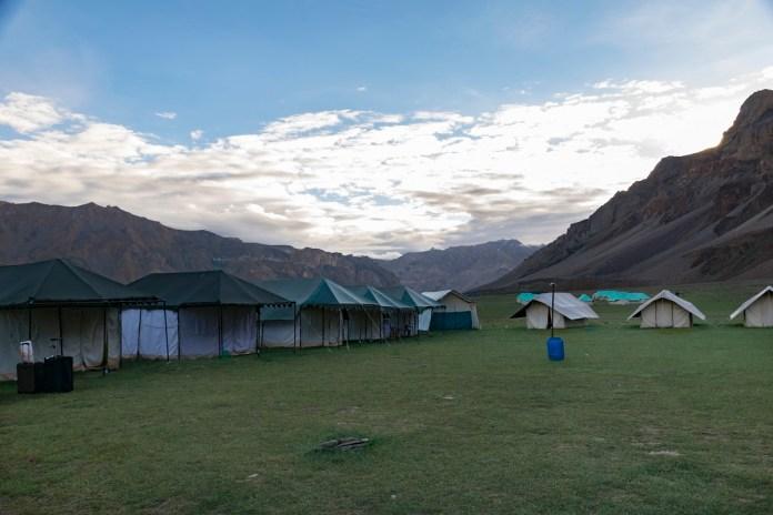 El campamento de Sarchu