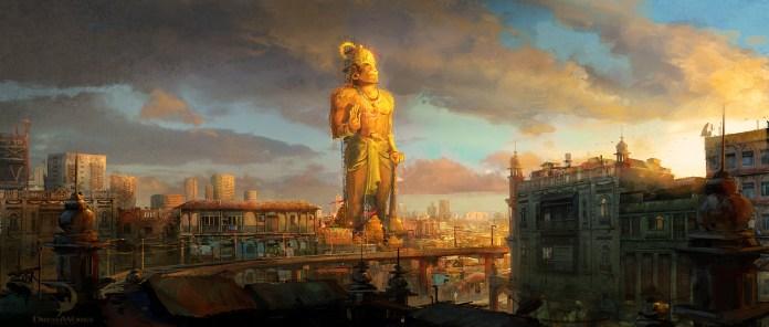 Hanuman Dibujo Mumbai