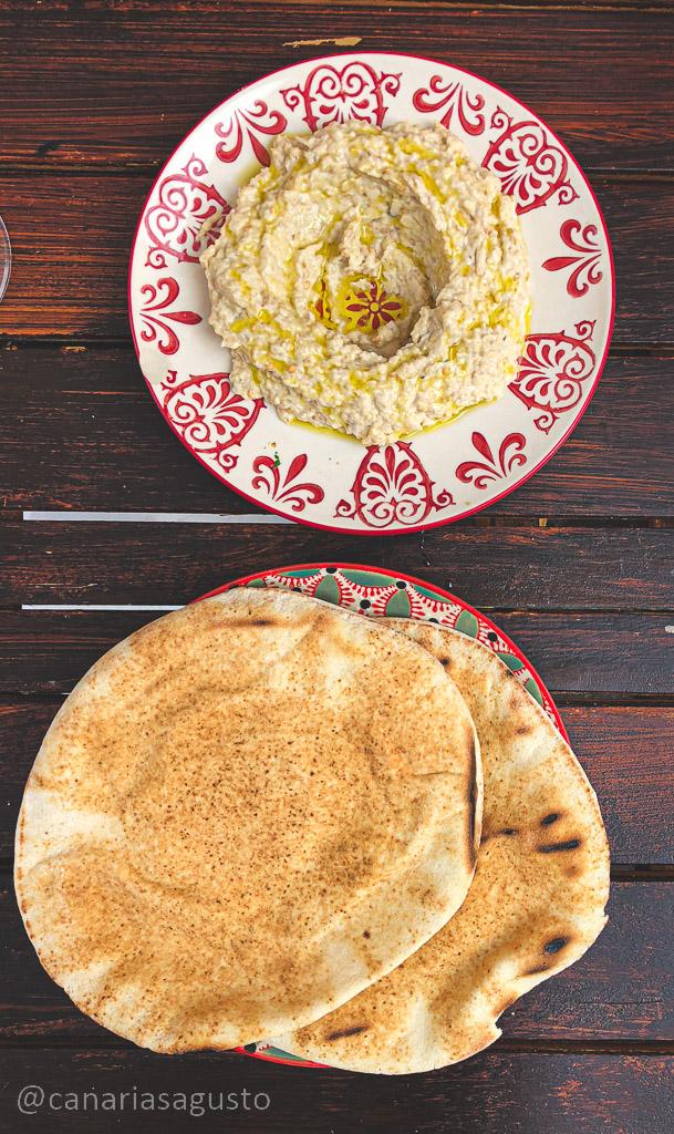 Moutabbal  en el capricho libanés