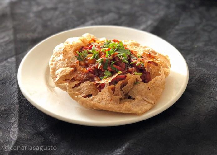 Chicken Puri en Casa Tandoori