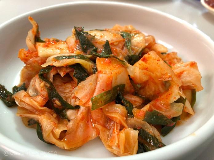 Kimchi Col Coreano