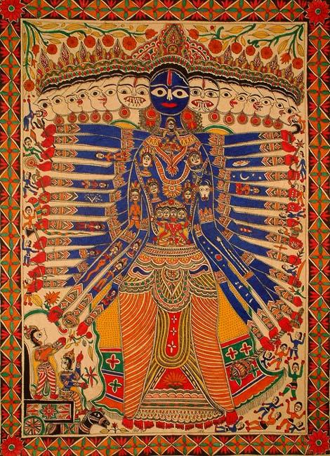 Visvharupa-por-Vidya-Devi-and-Dhirendra-Jha