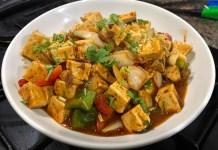 Chilli Tofu Receta